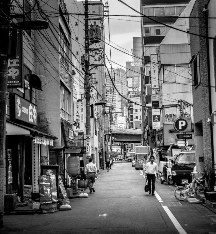Alleyways of Akihabara