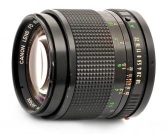 Canon FD 85mm f/1.8