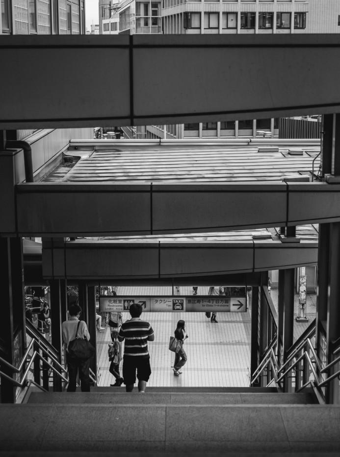 Leaving Ebisu Station