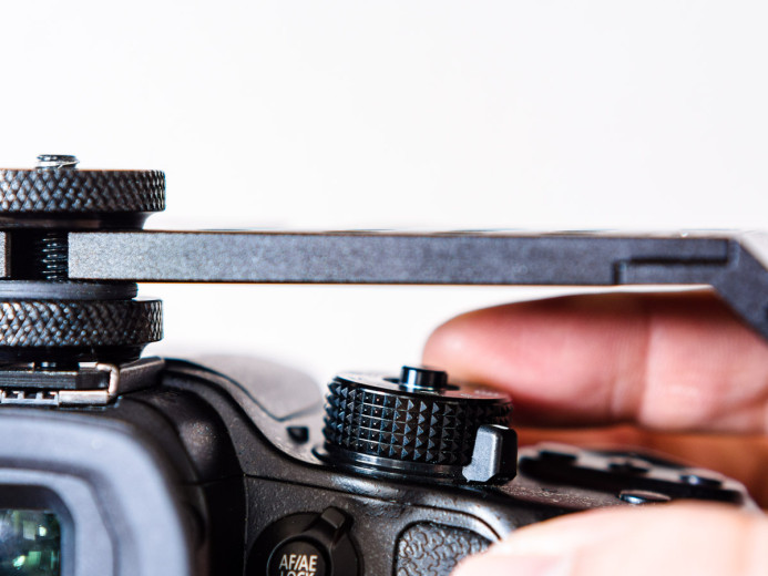 Easy access to the GH4's controls