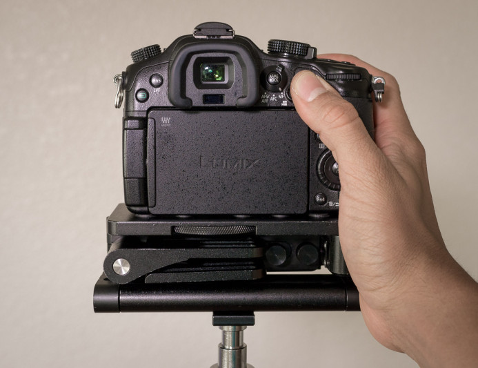 Compact Rig extends grip