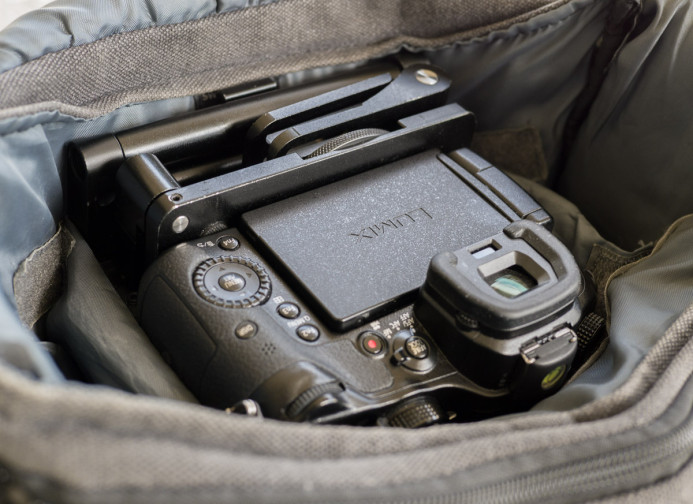 GH3 Fits in Bag with Compact Rig Attached