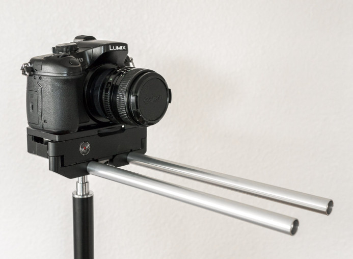 Longer 15mm Rods in Compact Rig