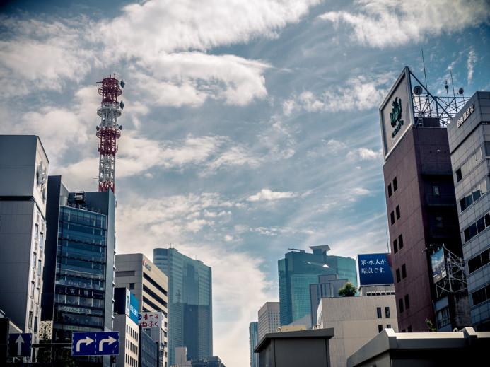 Ginza Skyline