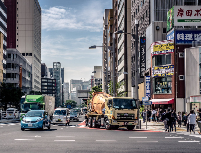 Tall Buildings of Ginza