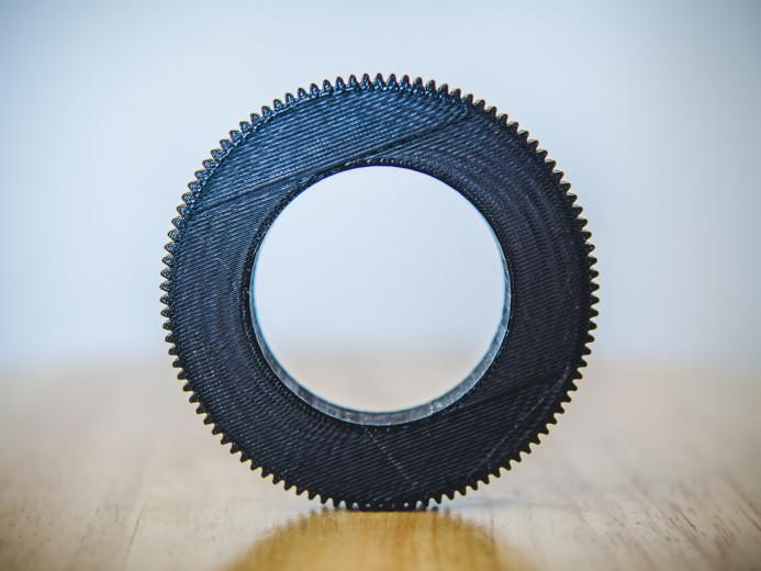 3D printed focus gears