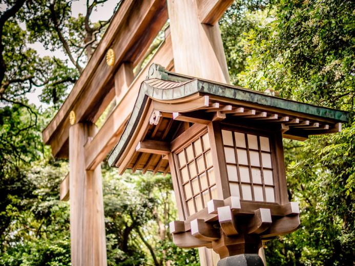 Meiji Jingu Gate in Harajuku
