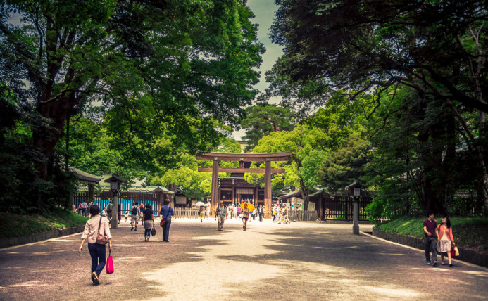 Meiji Jingu Inner Gate