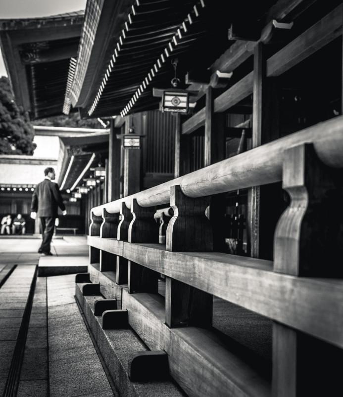 Meiji Jingu Temple Building