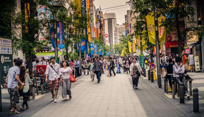 Saturday Crowds of Ikebukuro