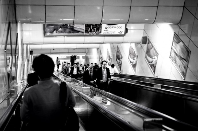 Early Morning in Ueno Station