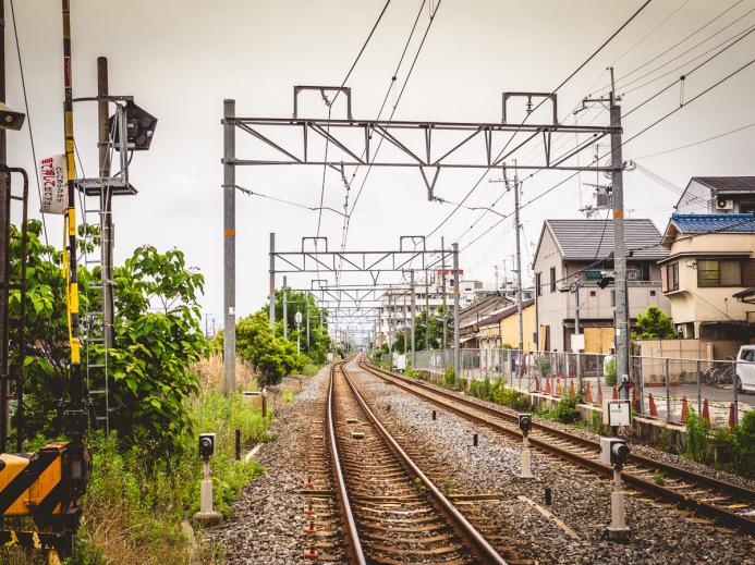 Train Tracks back to Kyoto