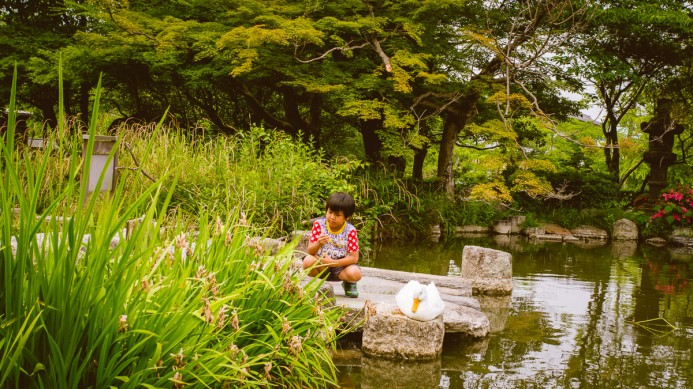 A Boy & His Duck