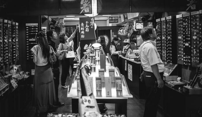 Chopstick Shopping