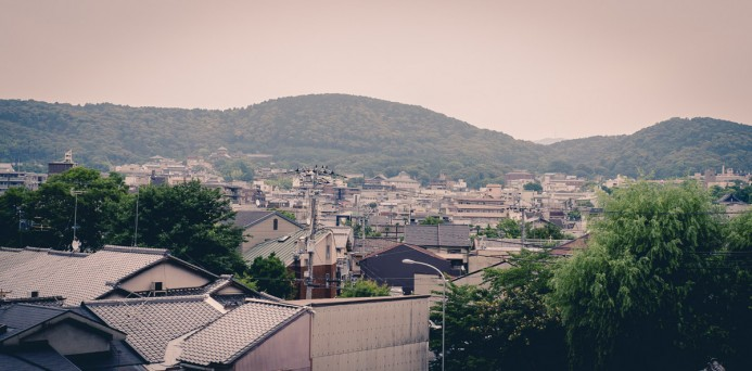 Rooftops of Kyoto