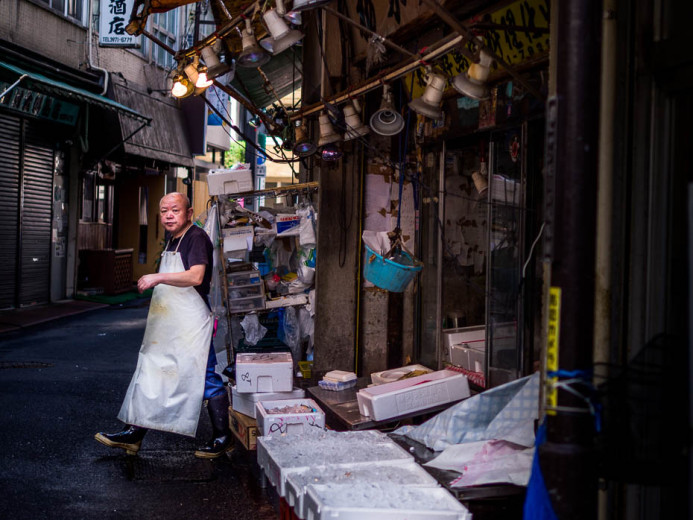 The Fishmonger's Morning