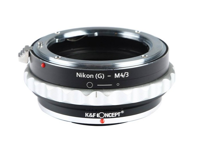 K&F Concept Nikon to MFT Adapter