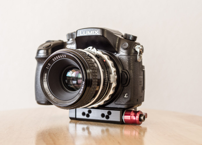 K&F Concept Nikon-MFT Adapter on Panasonic GH4
