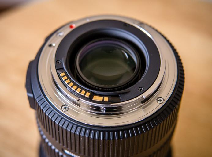Standard EF Lens Mount