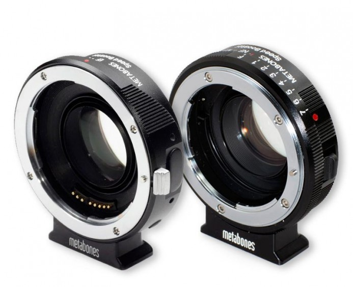 Canon EF and Nikon Speed Boosters