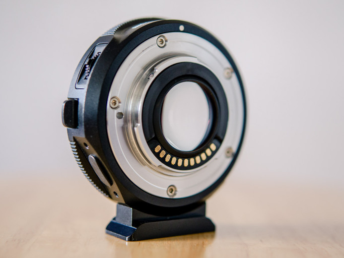 Speed Booster with Micro Four Thirds mount