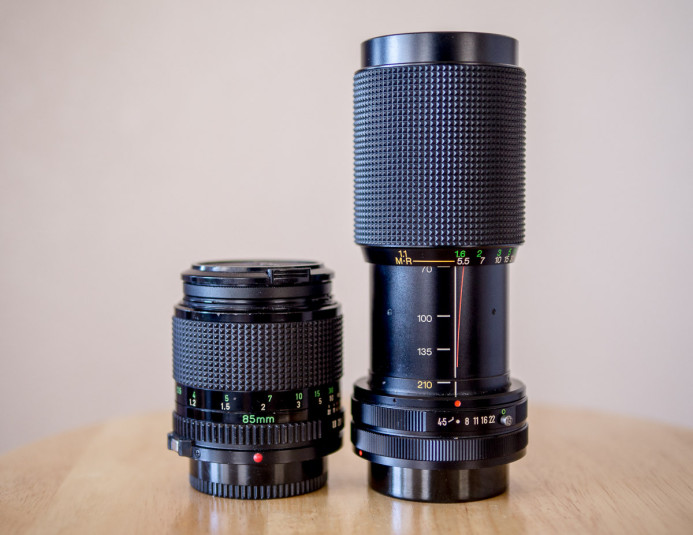 Canon FD is a legacy lens mount