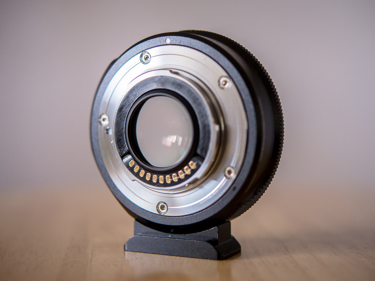 how to use metabones speed booster