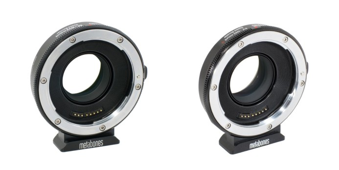 Metabones EF-MFT Speed Booster (Original & S versions)