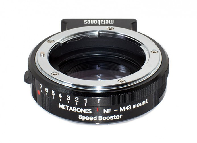 Nikon Speed Booster Aperture Ring