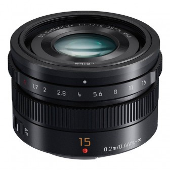 Panasonic 15mm f/1.7