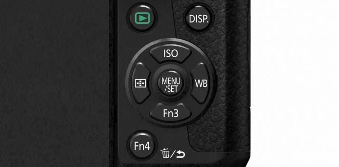 Panasonic G7 ISO & White Balance Buttons