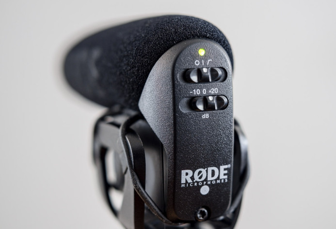 Rode VideoMic Pro +20dB Boost