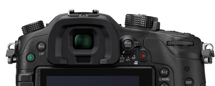Panasonic GH4 EVF