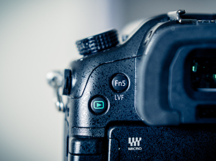 Function Button 5 (Next to EVF)