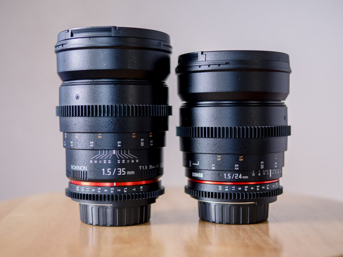 Rokinon 24mm & 35mm Lenses