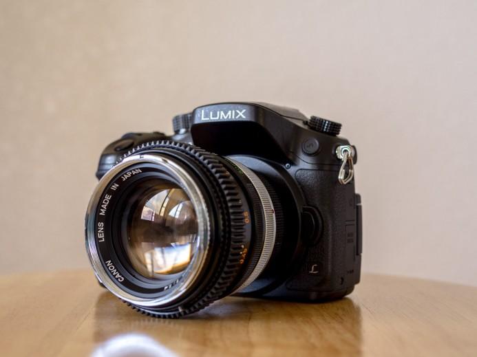 Panasonic GH4 w/Legacy Lens