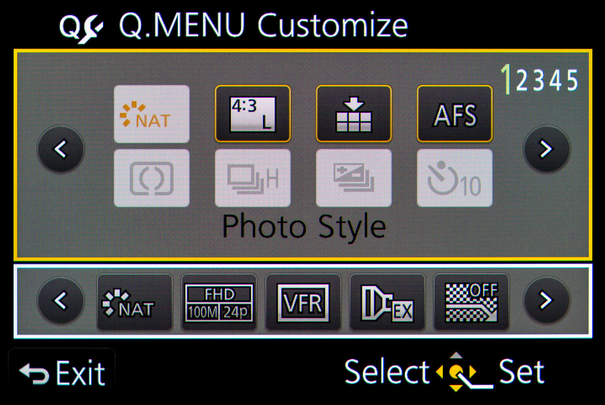 Panasonic Gh4 Quick Menu Settings For Video Production 3 Way Switch What Is The