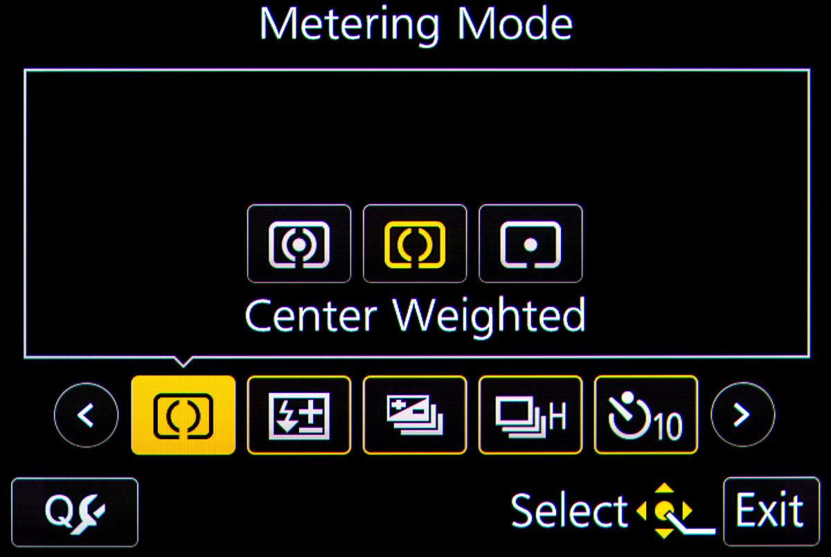 Panasonic GH4 Quick Menu Settings for Video Production