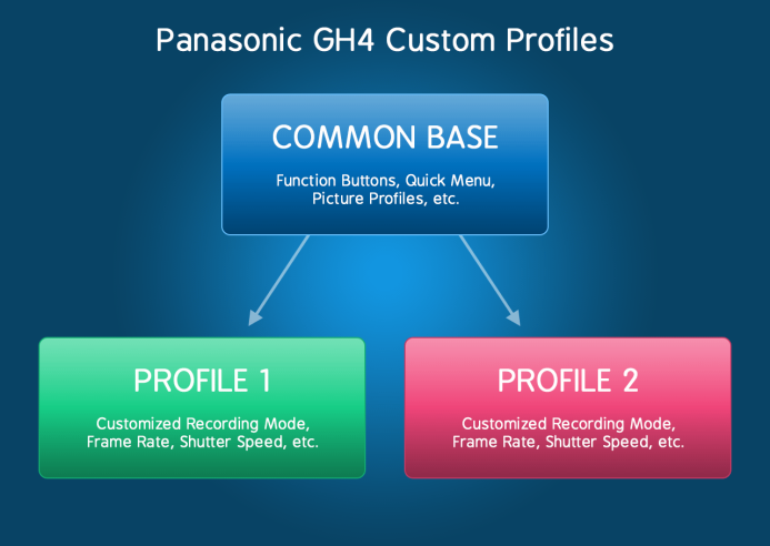 Panasonic GH4 Custom Profile Common Base
