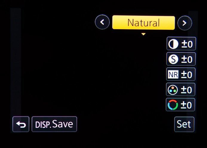 GH4 Picture Profiles Configuration