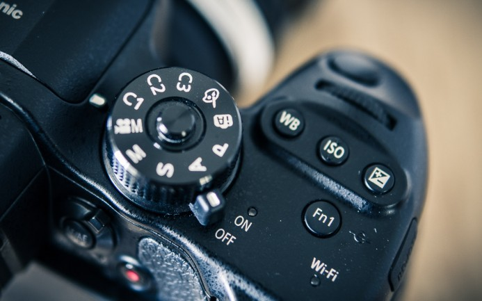 GH4 Function Buttons