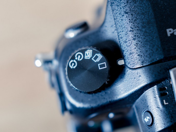 Switch GH4 to Single Shot Mode