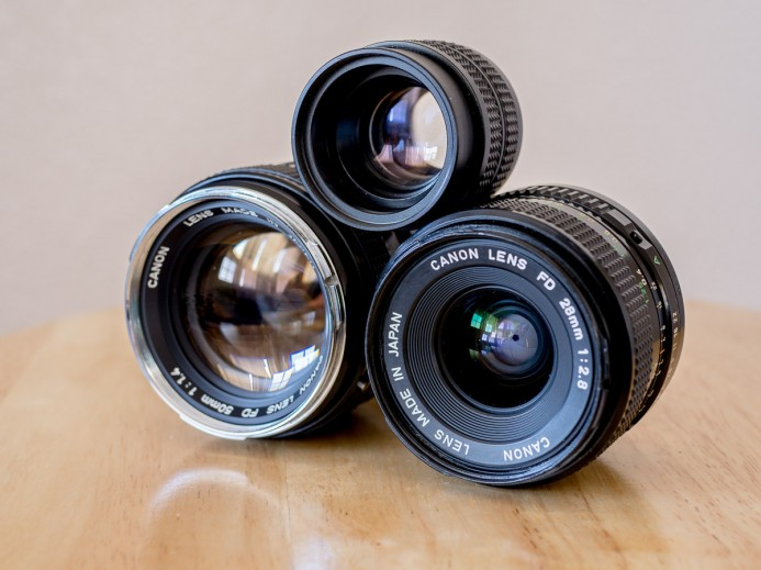Stacked Prime Lenses
