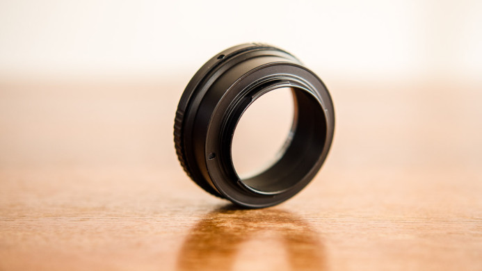 Clickless Aperture Ring