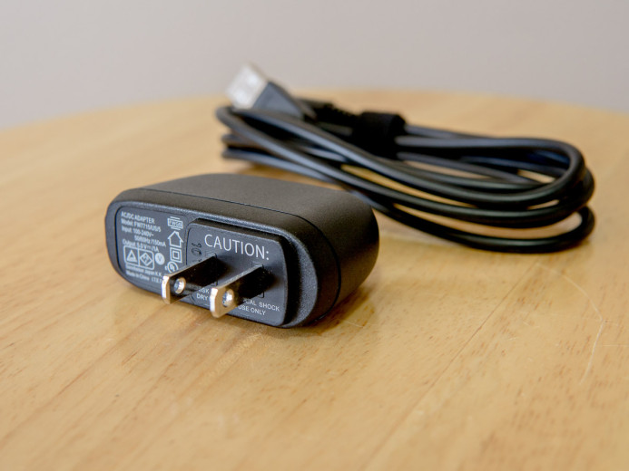 USB charger for AVX battery packs