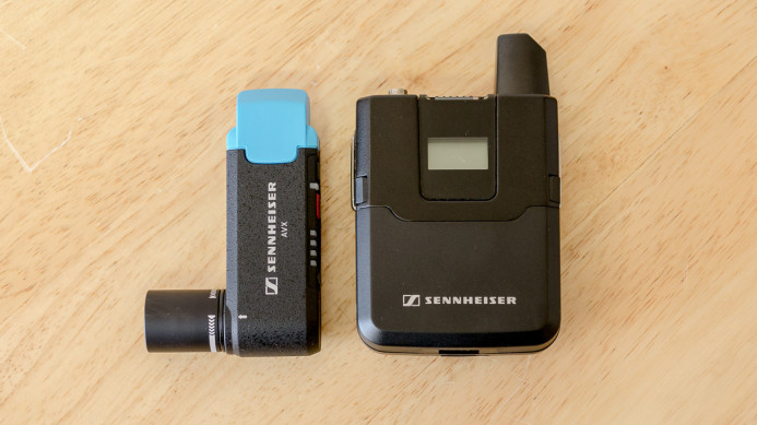AVX Receiver & Transmitter are small