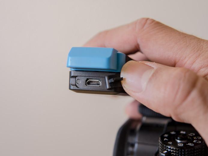 AVX receiver's micro USB port