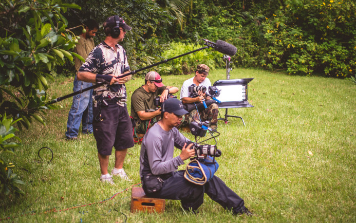 3-Camera Setup on Under the Blood-Red Sun