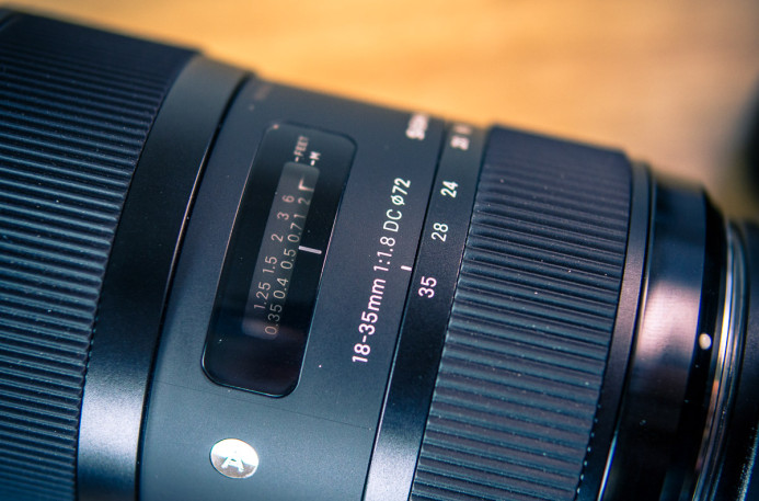Sigma 18-35mm f/1.8 Build Quality