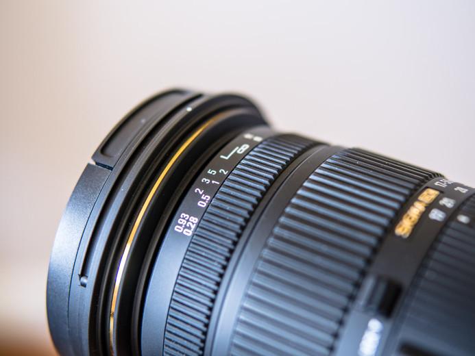 Thin focus ring